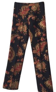 Pine Cove Straight Pants Navy multi-color