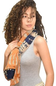 Colorblock Abstract Scarf