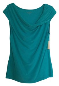 Coldwater Creek Top Teal green