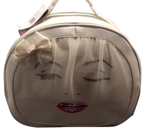 Betsey Johnson Ivory Travel Bag