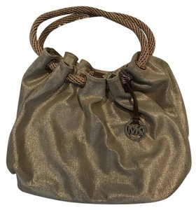 Michael Kors Canvas New W/o Tags Hobo Bag