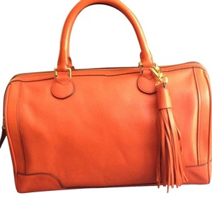 Banana Republic Satchel in Orange