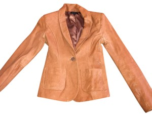 Rachel Zoe Tan Leather Jacket