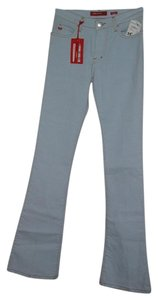 Miss Sixty Flare Leg Jeans-Light Wash
