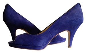 Calvin Klein Royal Blue Pumps