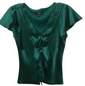 Dress Barn Top Emerald