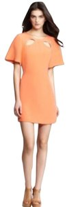 Rebecca Minkoff short dress Orange on Tradesy