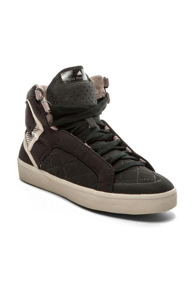 70f7eda4db2 adidas By Stella McCartney Black Discosura High Top Sneakers ...
