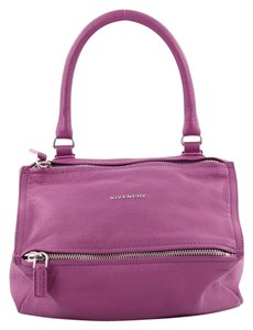 Givenchy Pandora Leather Satchel