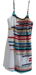 Alice + Olivia short dress Multi Silk Color on Tradesy