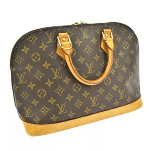 Louis Vuitton Vintage Leather Luxury Alma Satchel