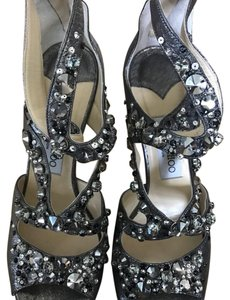 Jimmy Choo Anthracite/silver Formal