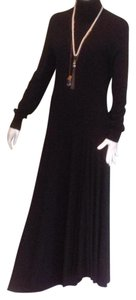 Black Maxi Dress by Max Mara