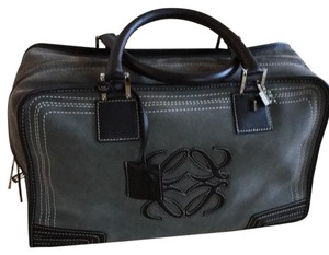 Loewe Satchel in Anthracite