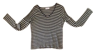 Velvet by Graham & Spencer Striped Stripes Comfy Sweater