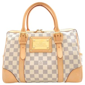 Louis Vuitton Berkeley Damier Satchel in azur