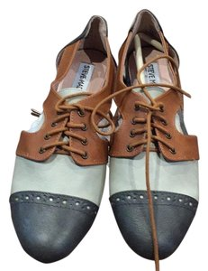 Steve Madden Grey, tan, multi Flats