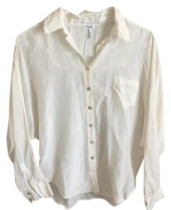Splendid Button Down Shirt Off-white