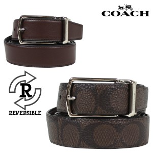 Coach Coach Signature Reversible All in one Size Mahogany/Brown Belt