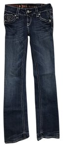 Rock Revival Torn Boot Cut Jeans-Distressed