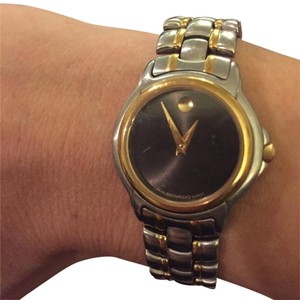 Movado Movado Ladies Watch - Duel Tone Stainless Steel
