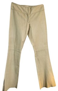 Vakko Boot Cut Pants Tan