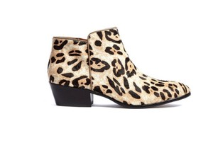 Sam Edelman Bootie Winter Fall Leopard Boots