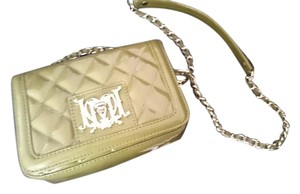 Love Moschino Patent Quilted Faux Patent Cross Body Bag