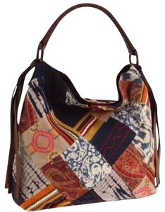 Lucky Brand Patchwork Slouchy Hobo Bag