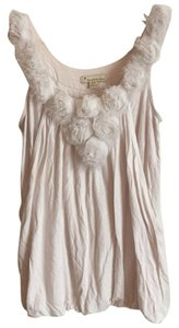 Forever 21 Top Cream, ivory, white