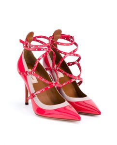 Valentino Heels Love Latch Classic 40.5 Red Pumps