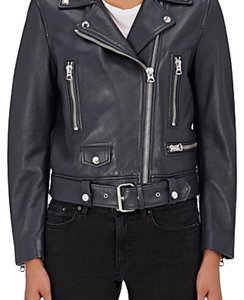 Acne Studios Dk grey Leather Jacket