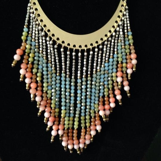 Nakamol Beaded Fringe Cord Necklace