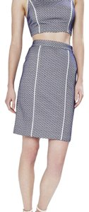 Rebecca Minkoff Skirt White and Brazil Blue