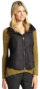 Eileen Fisher Parka Boiled Wool Vest