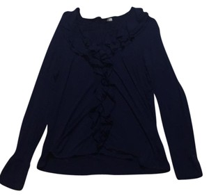 New York & Company Top Blue