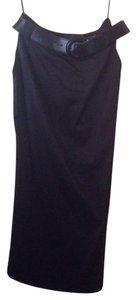 Anne Klein Vintage Pencil Maxi Skirt black