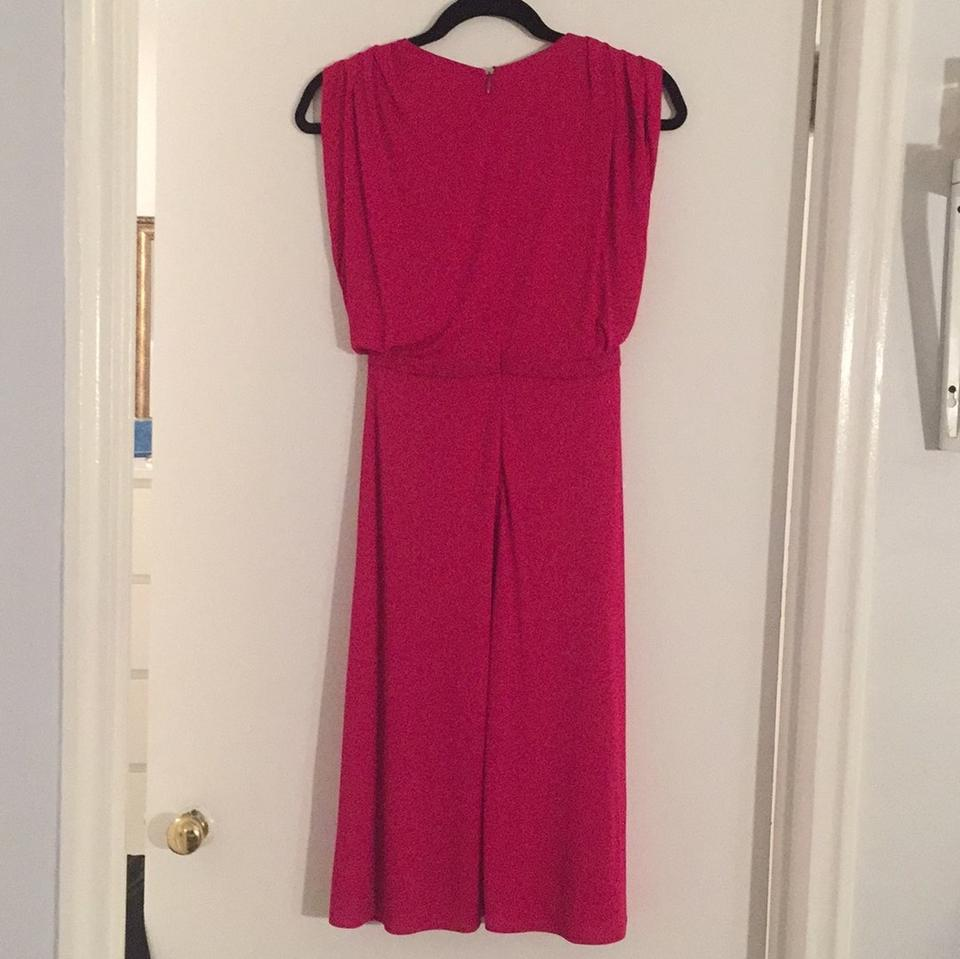 Gucci Fuschia Knee Length Cocktail Dress Size 4 (S) - Tradesy