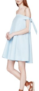 Rebecca Minkoff short dress Baby Blue on Tradesy