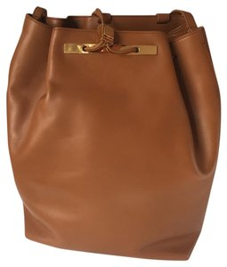 The Row Leather Trendy Style Classic Backpack