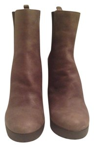 Rosegold Shoes Suege Comfortable Grey Boots