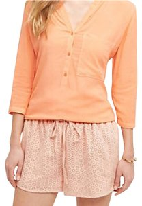 Anthropologie Mini/Short Shorts Orange