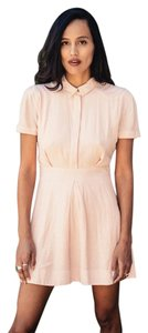 Free People short dress Pink Vintagelook 50s Summer on Tradesy
