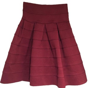 Anthropologie Skirt Maroon