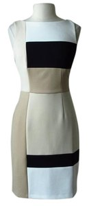 White House | Black Market Sheath Colorblock Dress
