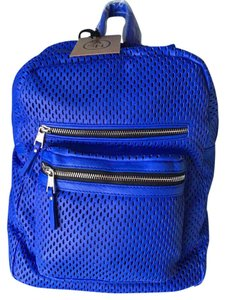 Ash Leather Nwt Blue Backpack