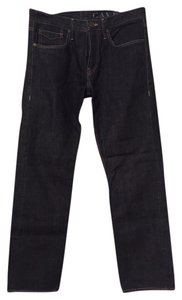 Burberry Men Straight Leg Jeans-Dark Rinse