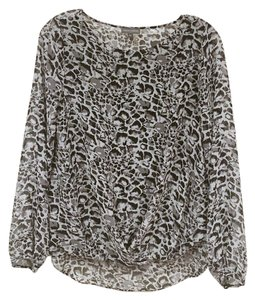 Vince Camuto Top Black, Gray