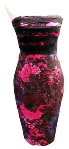 Plenty by Tracy Reese 100% Silk Lace Strapless Dress