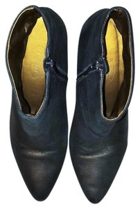 Talbots Leather Uppers Black/gold Boots